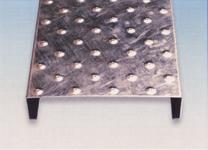 Gratar metalic perforat BN-G profil metalic