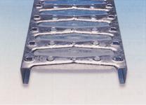 Gratar metalic perforat BR profil metalic